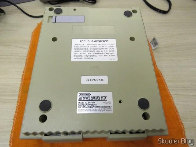 Parte de baixo do Super Nintendo Original NTSC PCB SHVC-CPU-01 CPU/PPU1/PPU2 1/1/1.