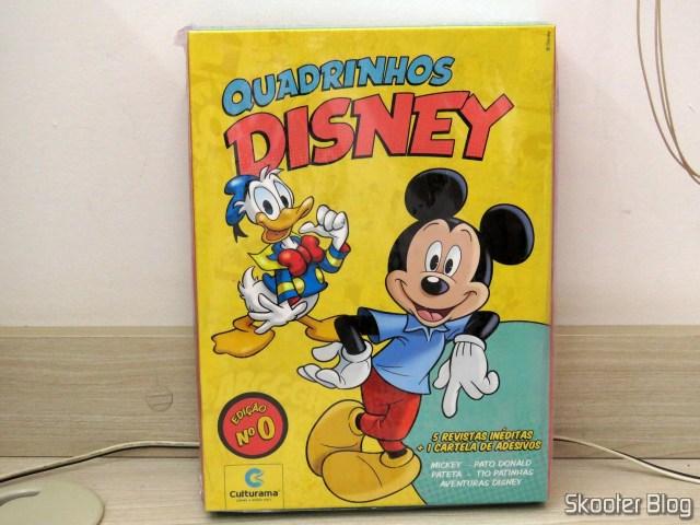 Box Quadrinhos Disney - Edição 0: 5 volumes
