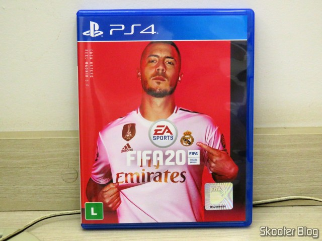 Fifa 20, do Playstation 4 (PS4), on its packaging.