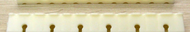 Suporte de Cordas do Varal Prático (Dentinho) Natural Secalux.