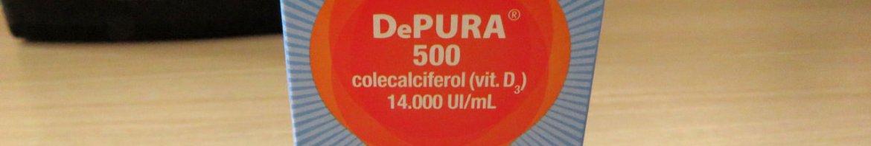 Depura 500 UI Sanofi Aventis 10ml.