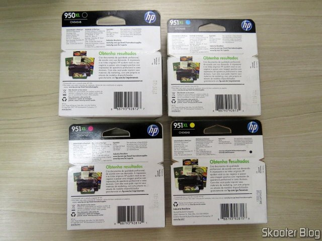 Complete Original HP 950 / 951XL Cartridge Kit Sealed.
