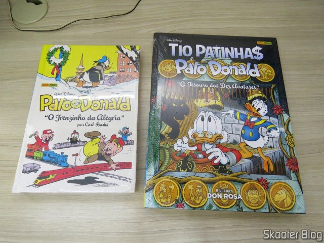 Don Rosa Library Volume 7 - The Treasure of the Avatars and Donald Duck By Carl Barks: The Joy Of Trenzinho.