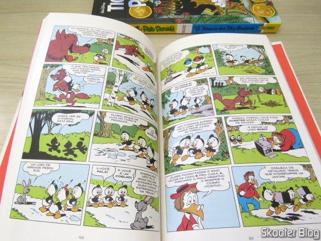 Pato Donald Por Carl Barks: The Joy Of Trenzinho.