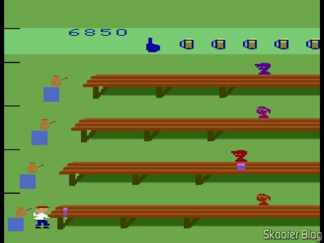 Tapper - Atari 2600, no MiSTer FPGA.