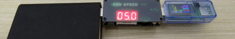 Teste do Controlador USB de Velocidade de Ventiladores (Fans) e Dimmer de LEDs ZK-BUFS 10W.