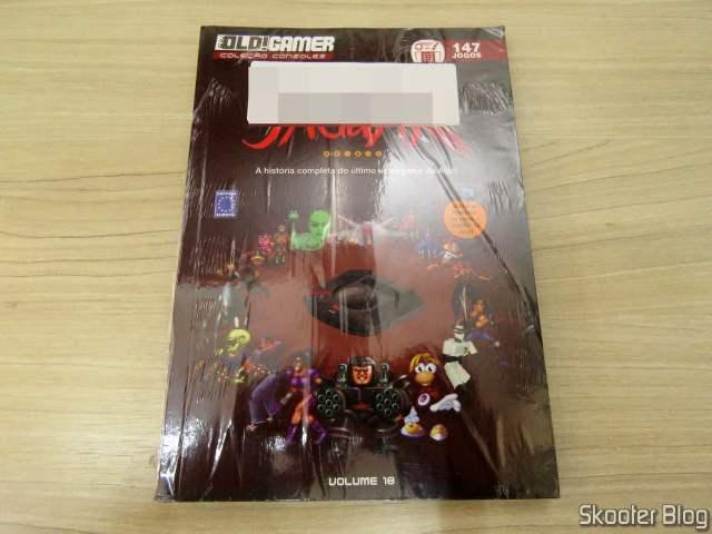 Dossiê OLD!Gamer: Jaguar – Volume 18, em sua embalagem.