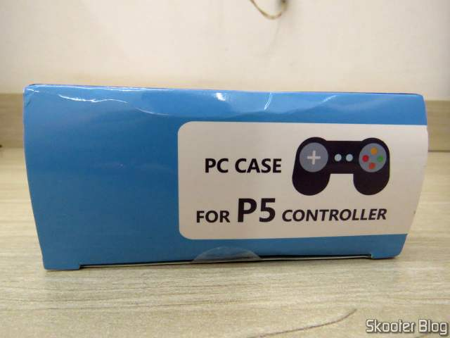Transparent Protective Case for Playstation DualSense Control 5, on its packaging.