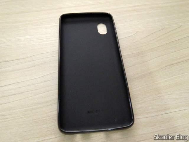 Capa Emborrachada para Samsung Galaxy A01 Core Preta Fosca SM-A013M 5.3.