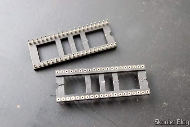 Sockets Torneados de 40 pins.