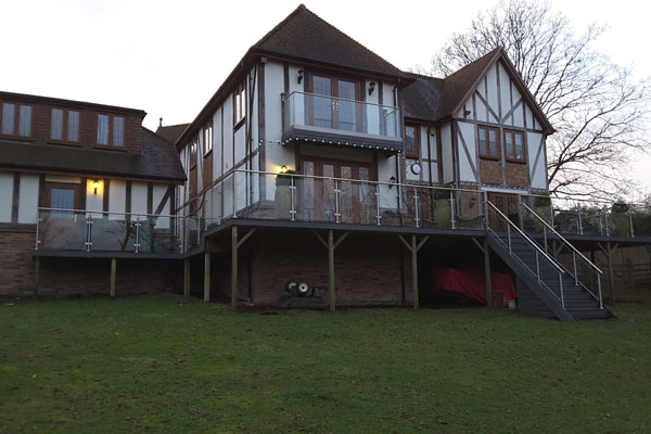 Glass Balustrades in Canterbury
