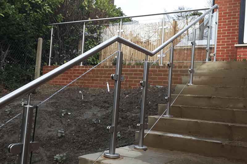 Glass stair Balustrades April 2 2016