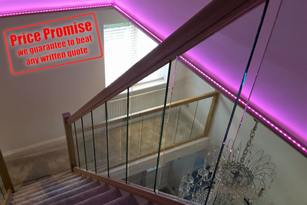 Bespoke Glass Balustrades Fitted in Bromley