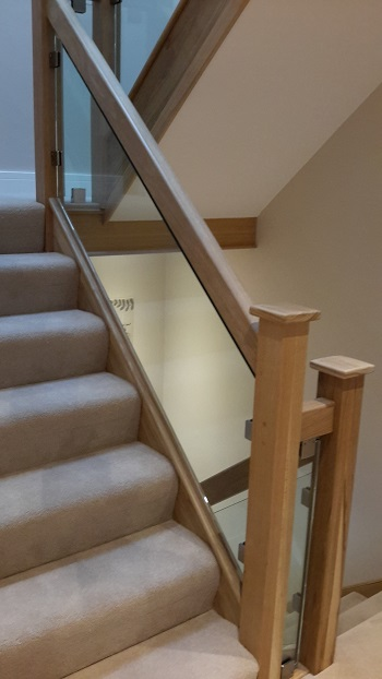 Staircase Glass Balustrades
