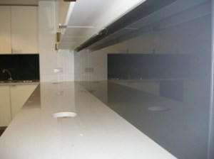 Splashbacks Supplied in a variety of colours
