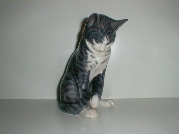 Katte Figurer Cat Figurines Porzellan Figuren Porcelain