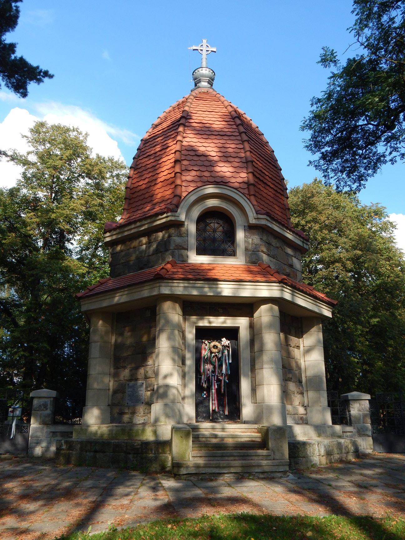 Cmentarz z I wojny światowej na Jabłońcu.