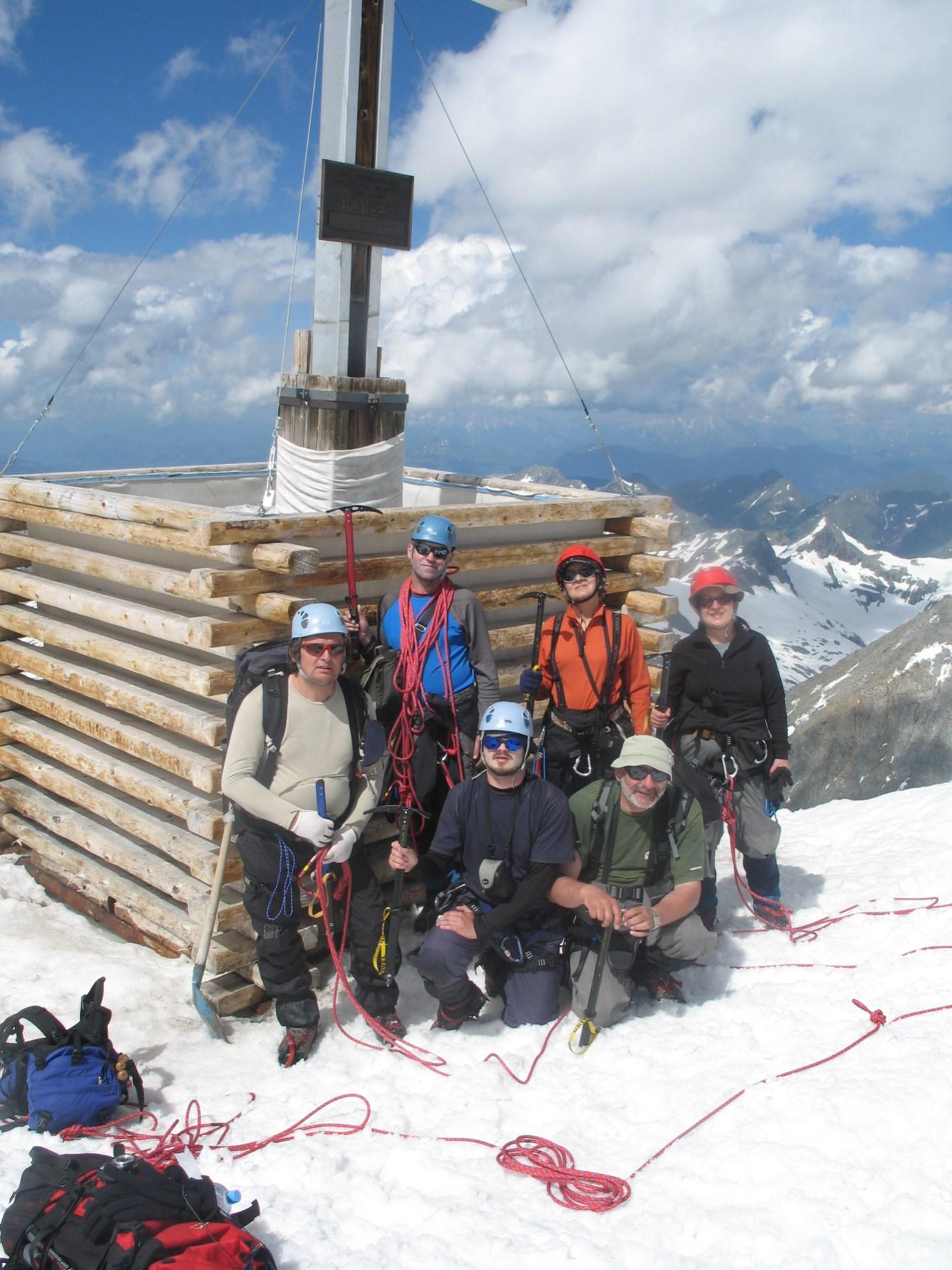 Na szczycie Grossvenedigera 3662m