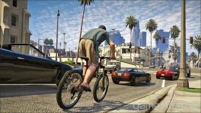 GTA V Bicylce ride 1
