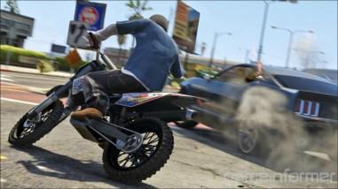 GTA V Drive By Motorcycle