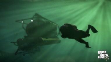 gta 5 diving 2