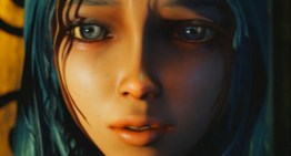 """فتاة غامضة ذات شعر أزرق تظهر فى ديمو خاص بأستوديو """"Ninja Theory"""""""