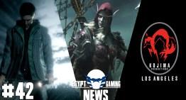 الحلقة 42 من EGN – ملخص Blizzcon 2015 و تلميحات تطوير Alan Wake 2 و قفل ستيديو Kojima Productions LA