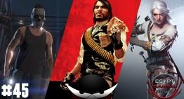 الحلقة 45 من EGN : الاعلان عن الـHeists في GTA online , التلميح لـRed Dead Redemption 2 و الشخصية التانية في The Witcher 3