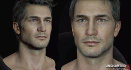 مجموعة صور توضح دقة تصميم Nathan Drake في Uncharted 4