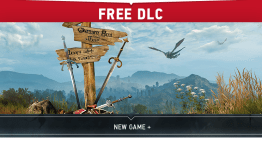 اضافة الـNew Game + للعبة The Witcher 3 كأخر اضافة مجانية للعبة