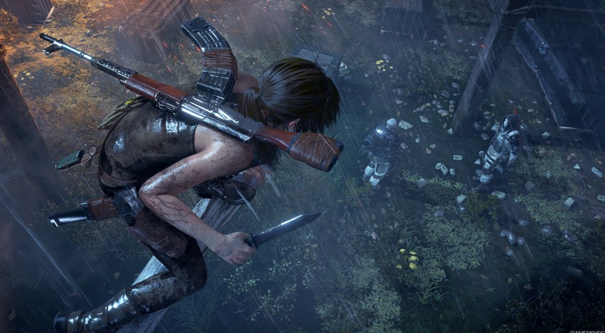 تسريب معاد اصدار Rise Of the Tomb Raider علي البلاي ستيشن 4