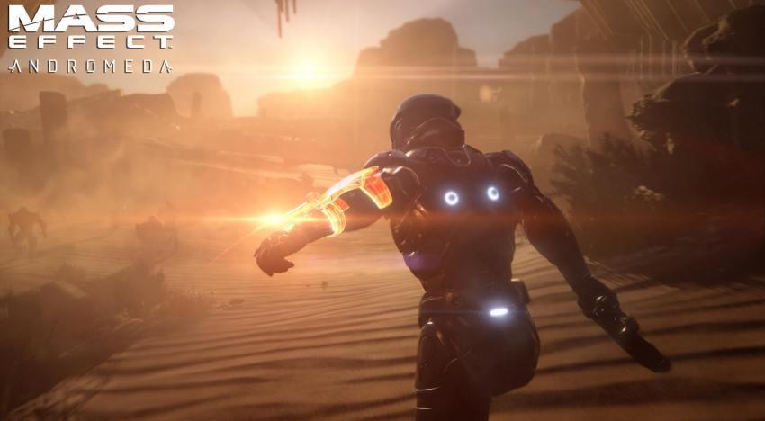 فيديو مسرب من المحتمل يكون اول لقطات تتعرض من جيمبلاي لعبة Mass Effect Andromeda