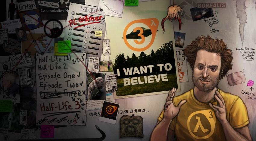 اصدار Mod للعبة Half Life 2 مبني علي القصة المنشورة للجزء الثالث