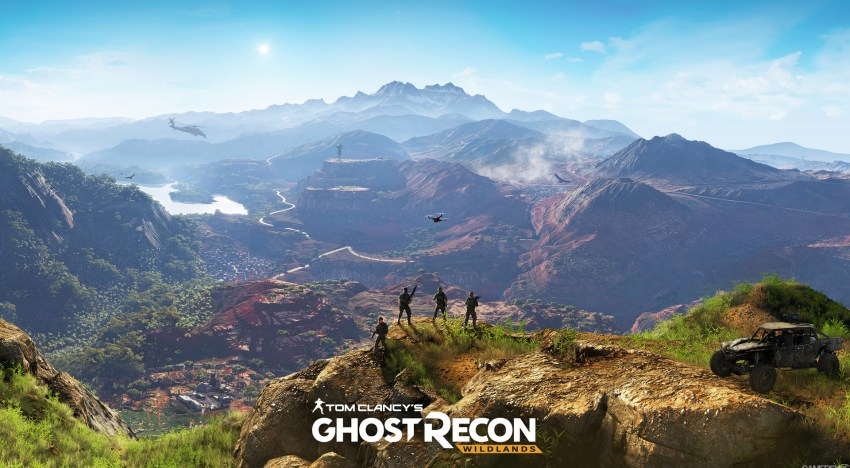 عرض دعائي جديد لـGhost Recon Wild Lands لاول مرة من E3 2015