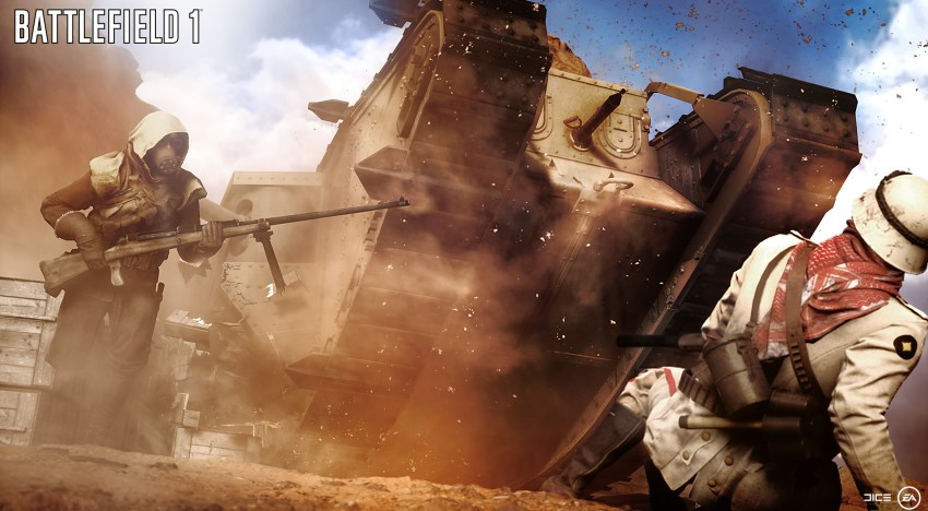 العروض الخمسة لفصول قصة Battlefield 1