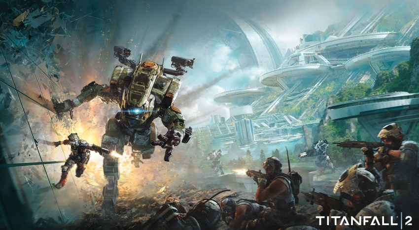 هتقدر تتواصل مع الـTitan الخاص بيك في Titanfall 2