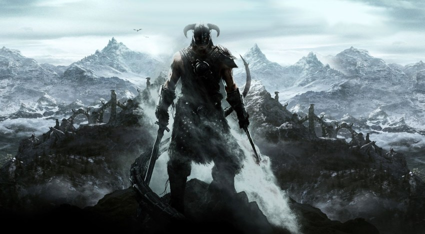 فيديو مقارنة بين نسخة الـPlaystation 3 و الـPlaystation 4 من لعبة The Elder Scrolls V Skyrim