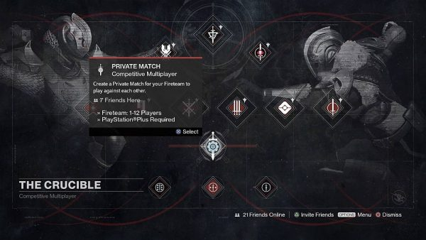 بعد سنتين من اصدار Destiny اضافة الـPrivate Matches للعبة اخيرا