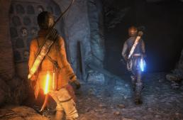 عرض دعائي للعبة Rise of the tomb raider علي الـPlaystation 4 Pro