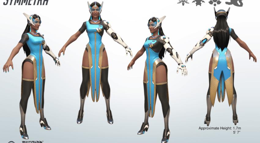 تغييرات بنسبة كبيرة جدا علي اسلوب اللعبة بشخصية Symmetra في لعبة Overwatch