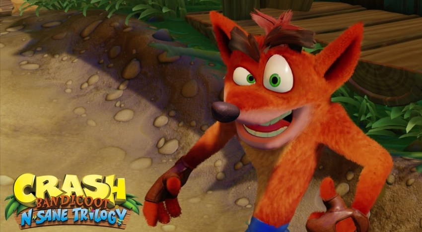 أول عرض Gameplay لـCrash Bandicoot: N. Sane Trilogy