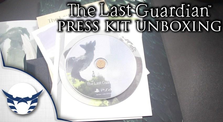 فتح نسخة الصحفيين من لعبة The Last Guardian