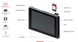 تفاصيل عن مواصفات الـNintendo Switch و حجم الشاشة ودقة عرضها