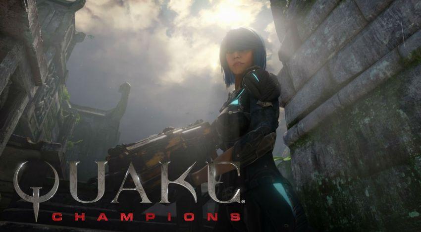 اول عرض لشخصية Nyx من لعبة Quake Champions