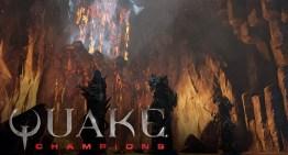 عرض جديد لخريطة The Burial Chamber في لعبة Quake Champions