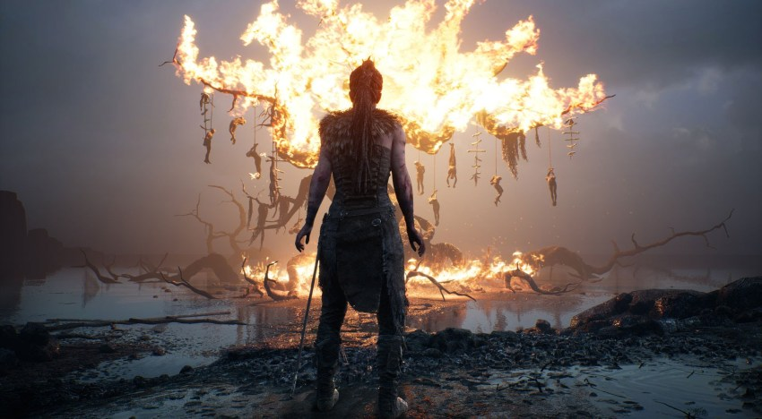 قلة اعتماد Hellblade: Senua's Sacrifice علي القتال واحتوائها علي الغاز تجريبية