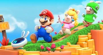 الاعلان عن Mario + Rabbids Kingdom Battle خلال مؤتمر Ubisoft في E3 2017