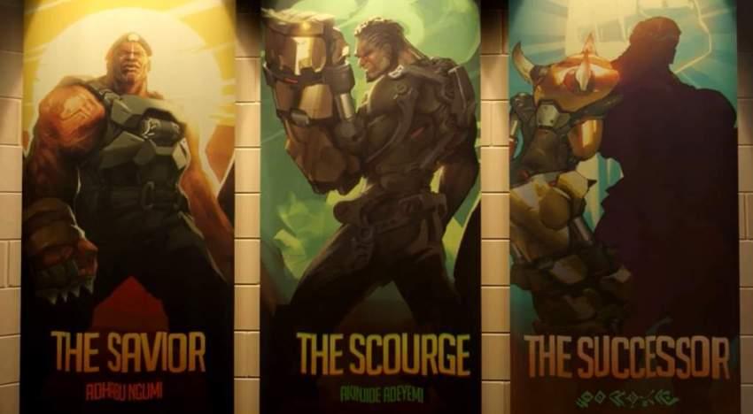 التلميح عن الكشف عن Doomfist بطل Overwatch الجديد