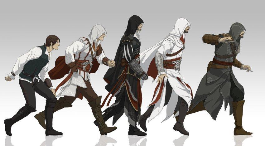 الاعلان عن مسلسل أنمي خاص بـAssassin's Creed