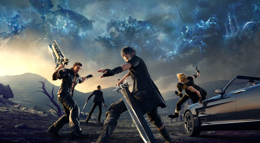 تلميحات للمزيد من المحتويات الاضافية لقصة Final Fantasy XV